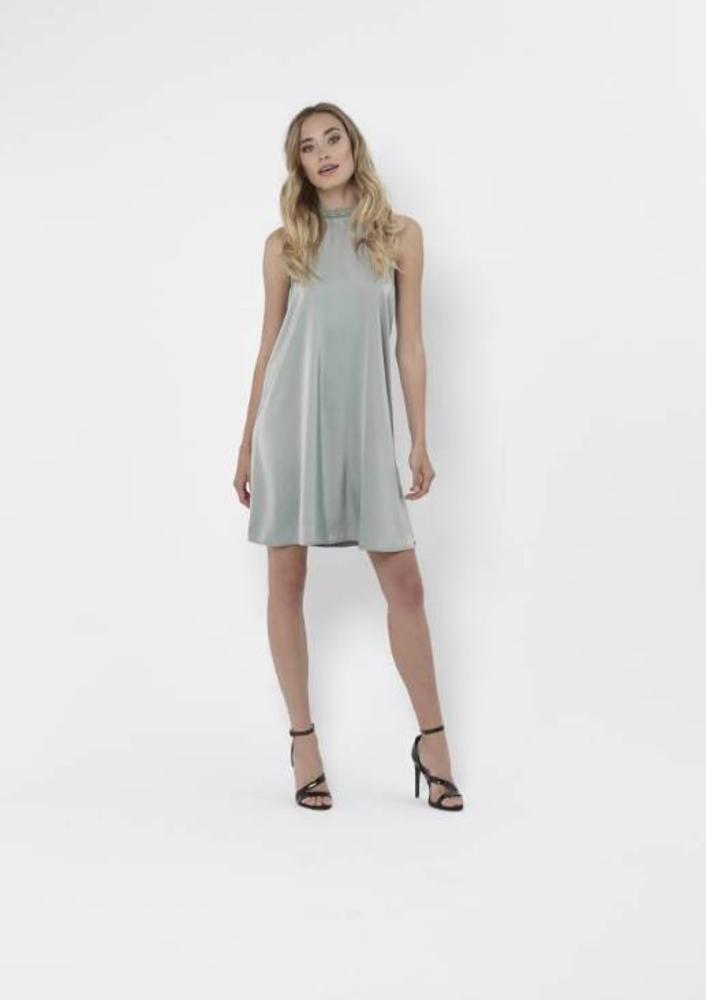 jurk aliz mint blauw