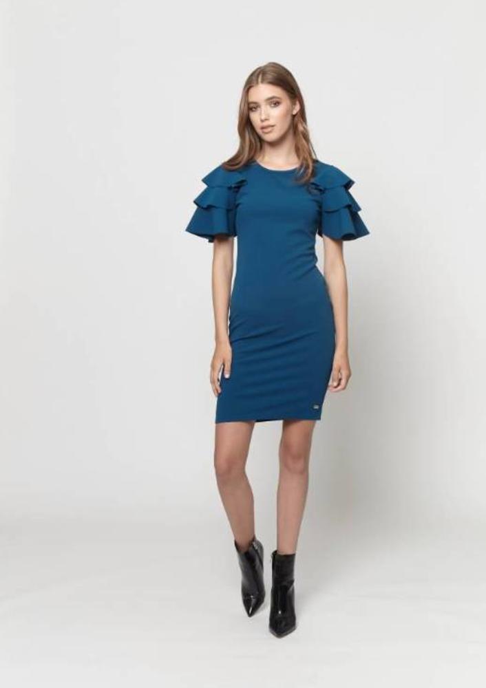 jurk tyra blauw