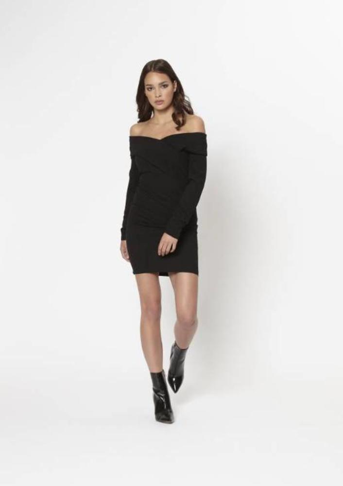 jurk helsa zwart