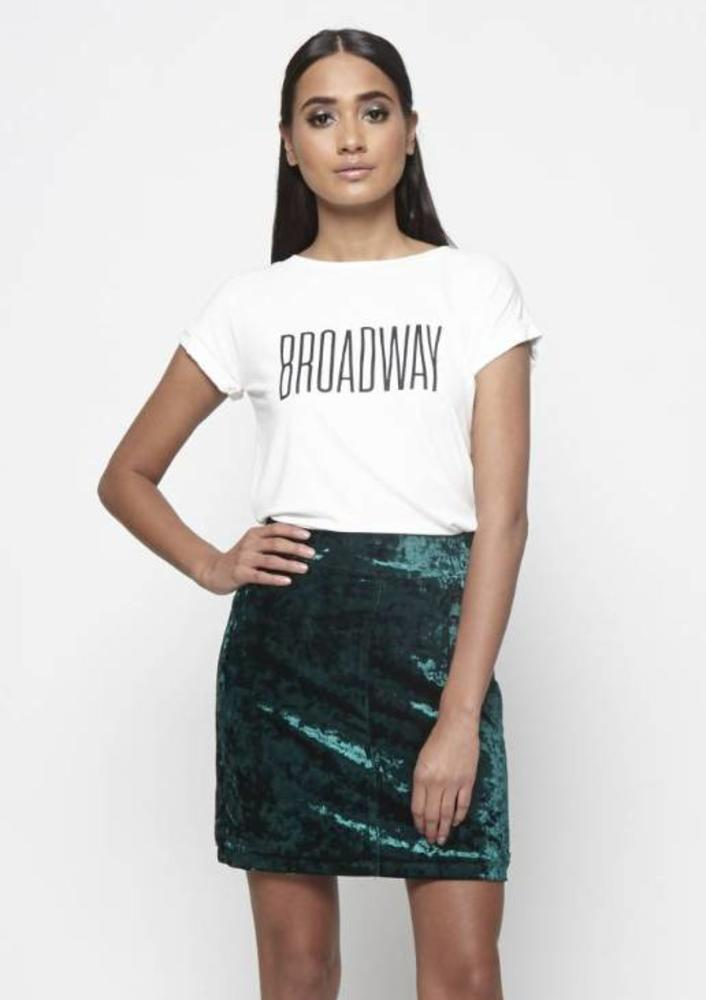 t-shirt isidora wit