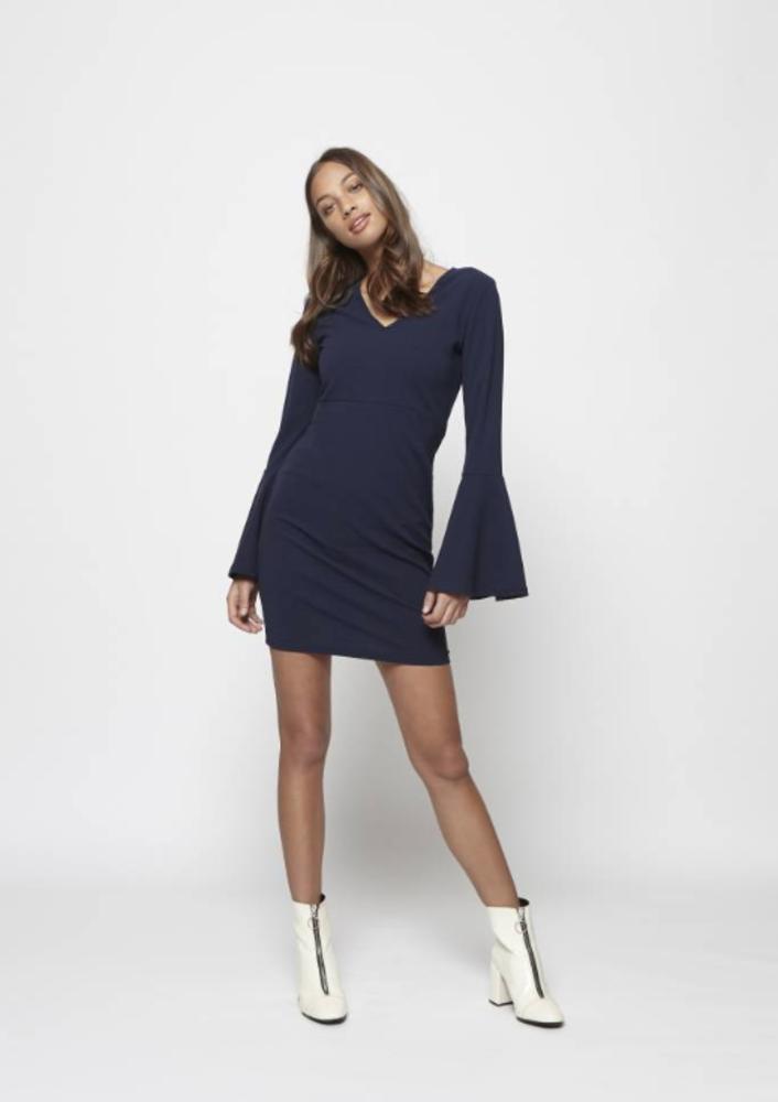 jurk cali blauw
