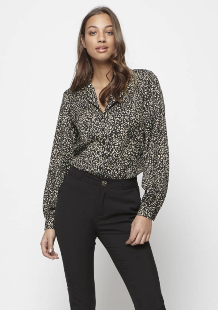 blouse emma lee zwart