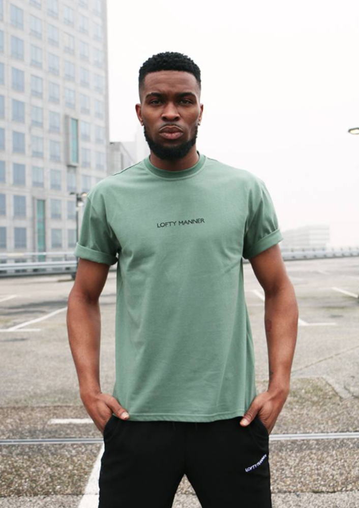 t-shirt silvio groen