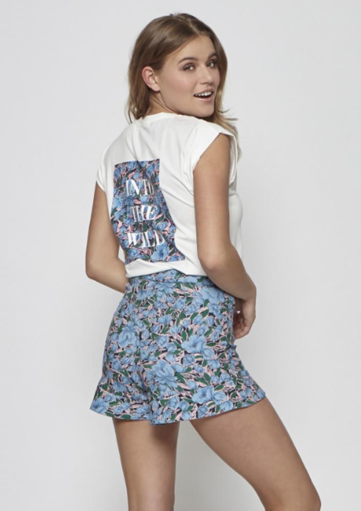 T-shirt lucita wit
