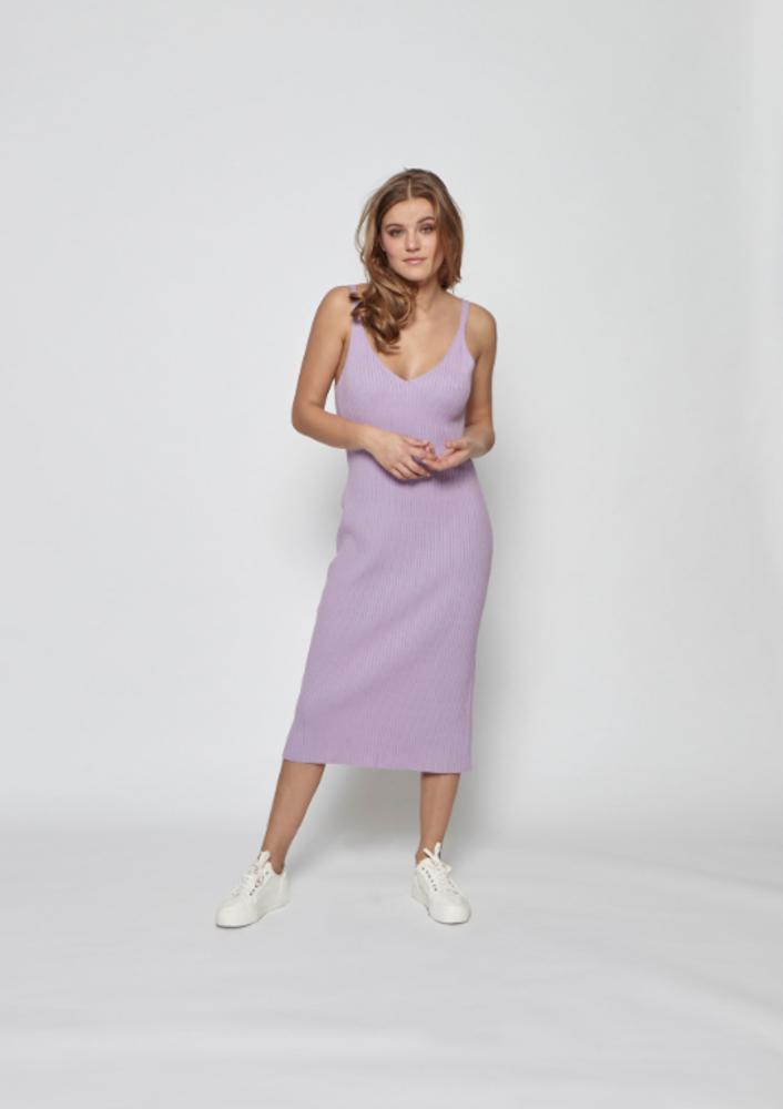 Dress Evita lilac