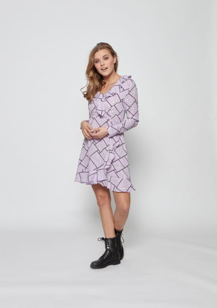 jurk livvy lilac