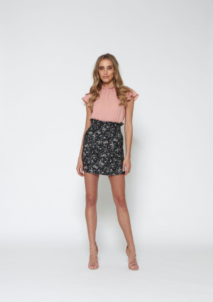 blouse nolan lilac
