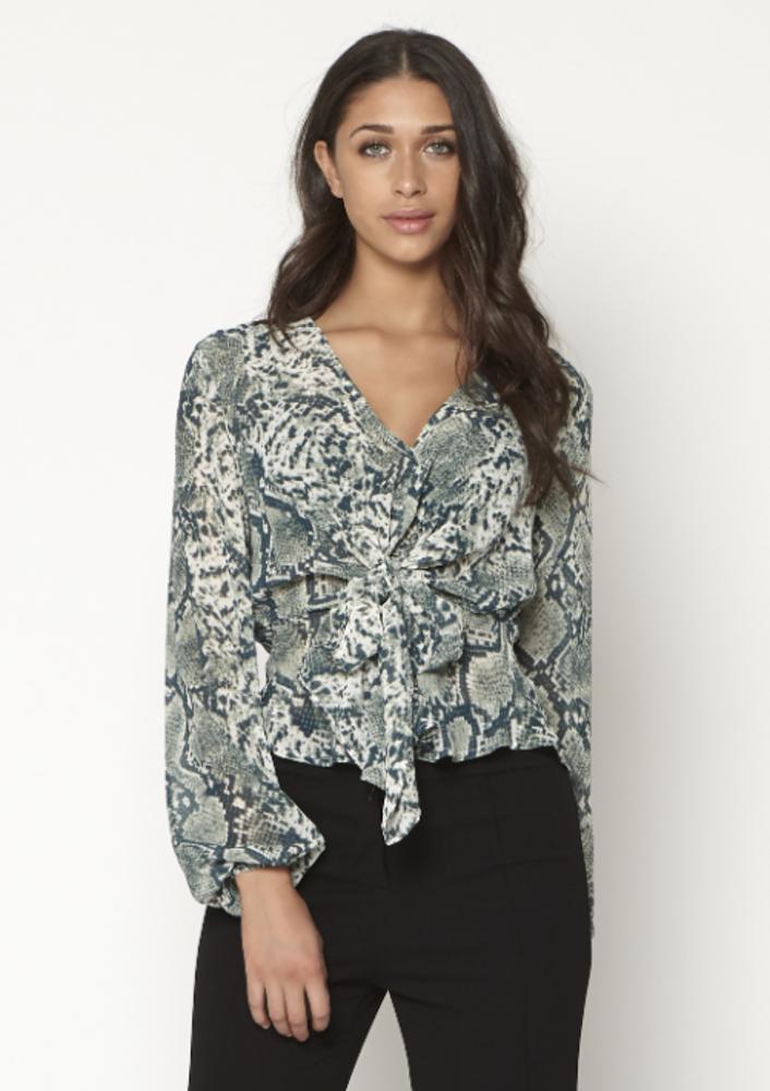 blouse warda grijs