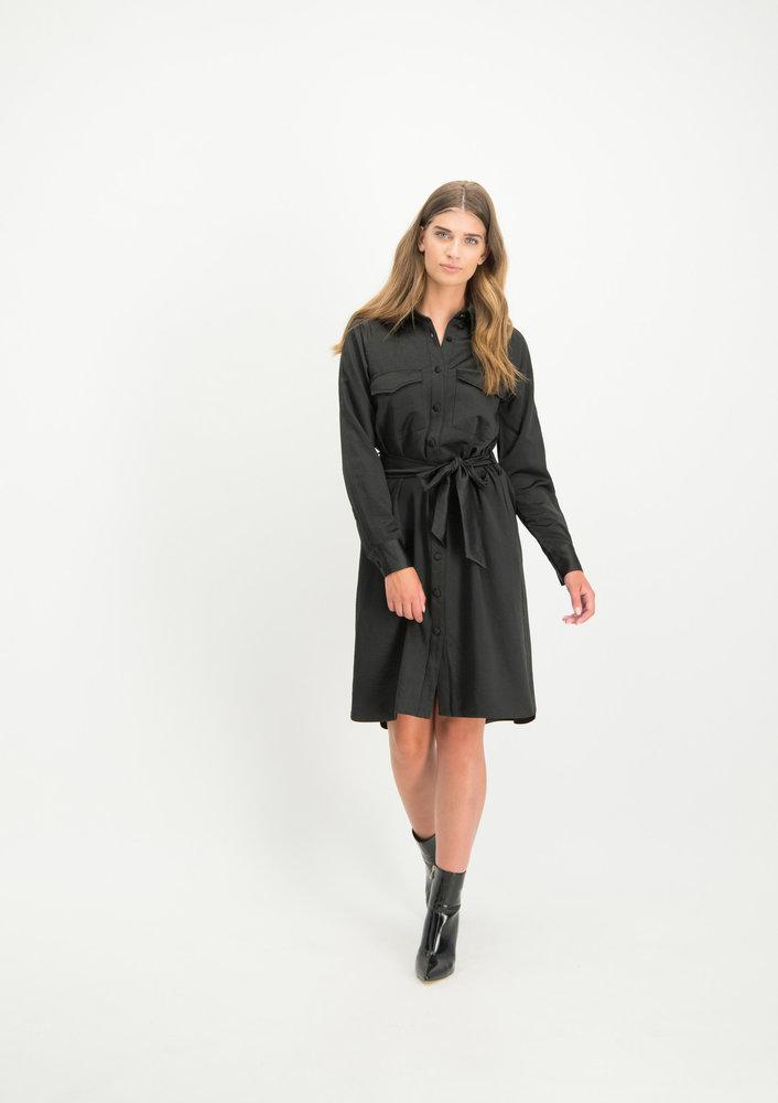 jurk dilara zwart