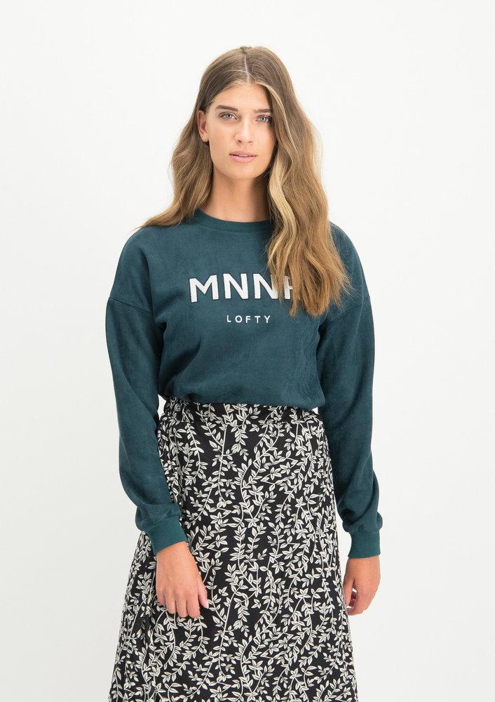 Sweater Raffaela groen