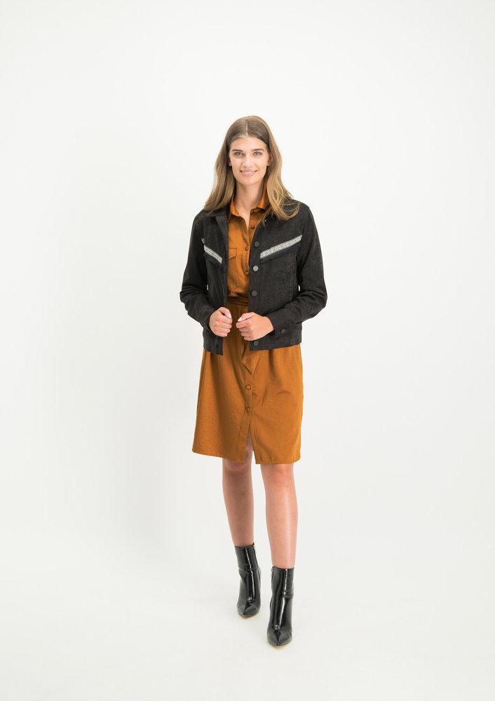 Jacket Alba Zwart