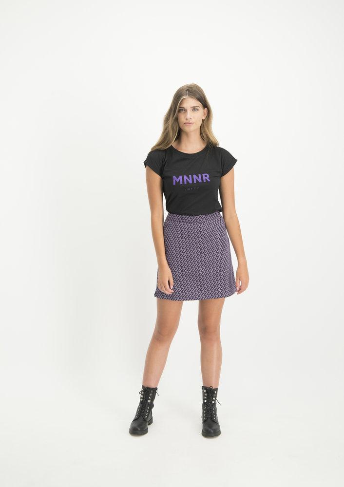 Shirt Priscilla Zwart