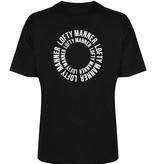 T-Shirt Sander-Zwart Cirkel