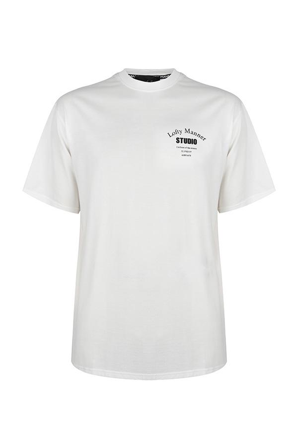 Lofty Manner T-Shirt Sander Wit Studio