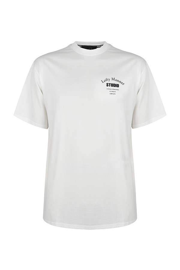 T-Shirt Sander-Wit Studio