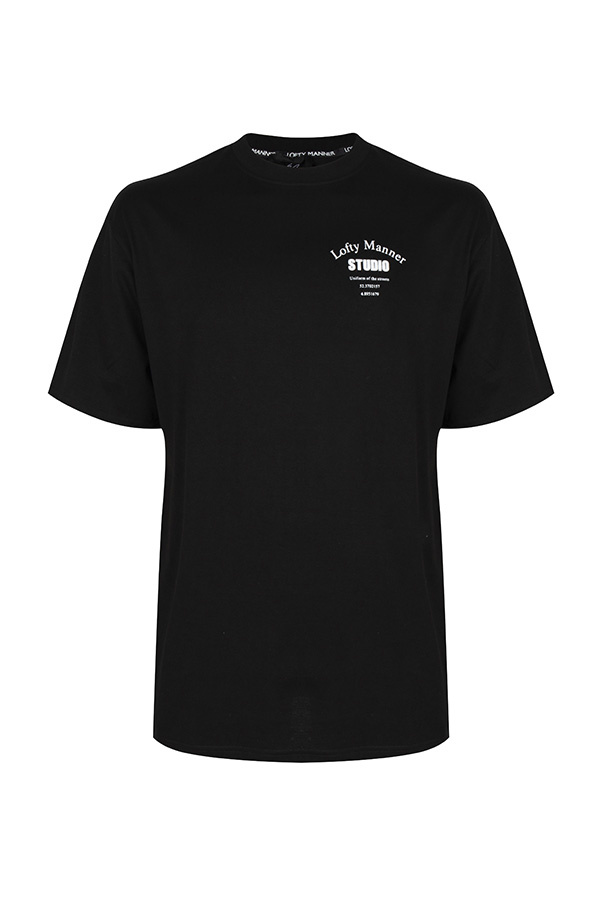 T-Shirt Sander-Zwart Studio