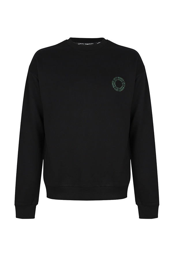 Sweater Finn-Black Circle