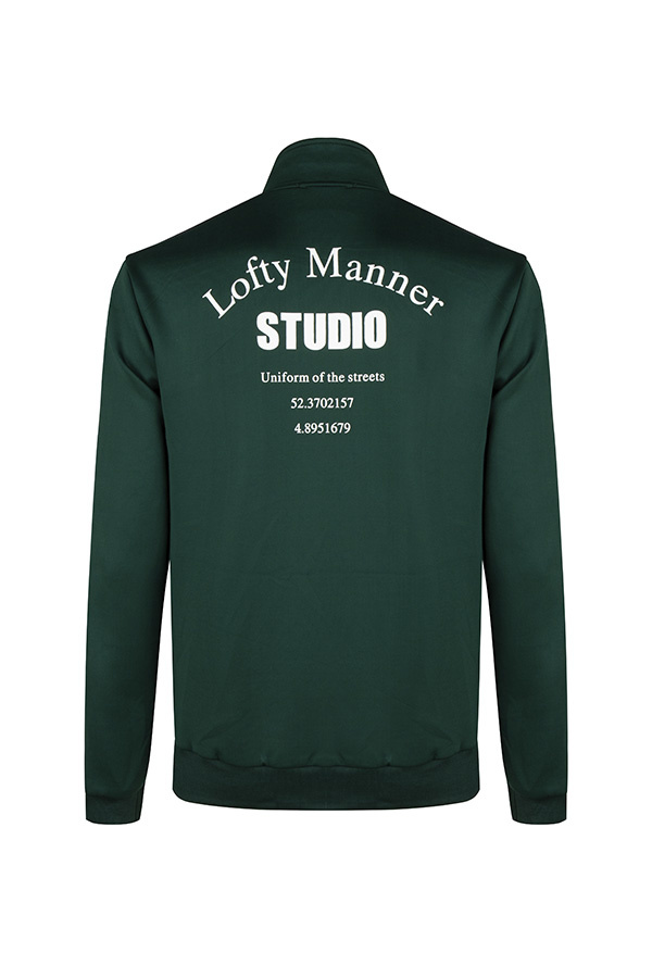 Lofty Manner Jacket Jace-Green Studio