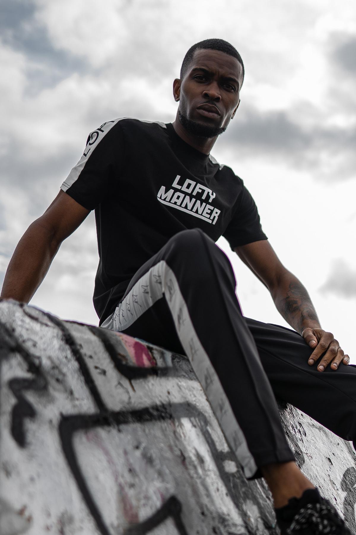 Lofty Manner Broek Tyrone-Zwart LM
