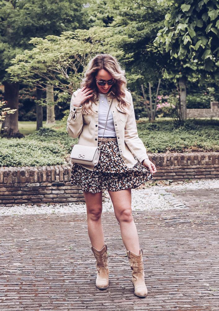 Skirt Elicia Yellow