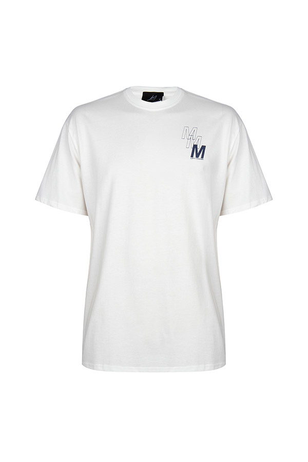 T-Shirt Lincoln Wit