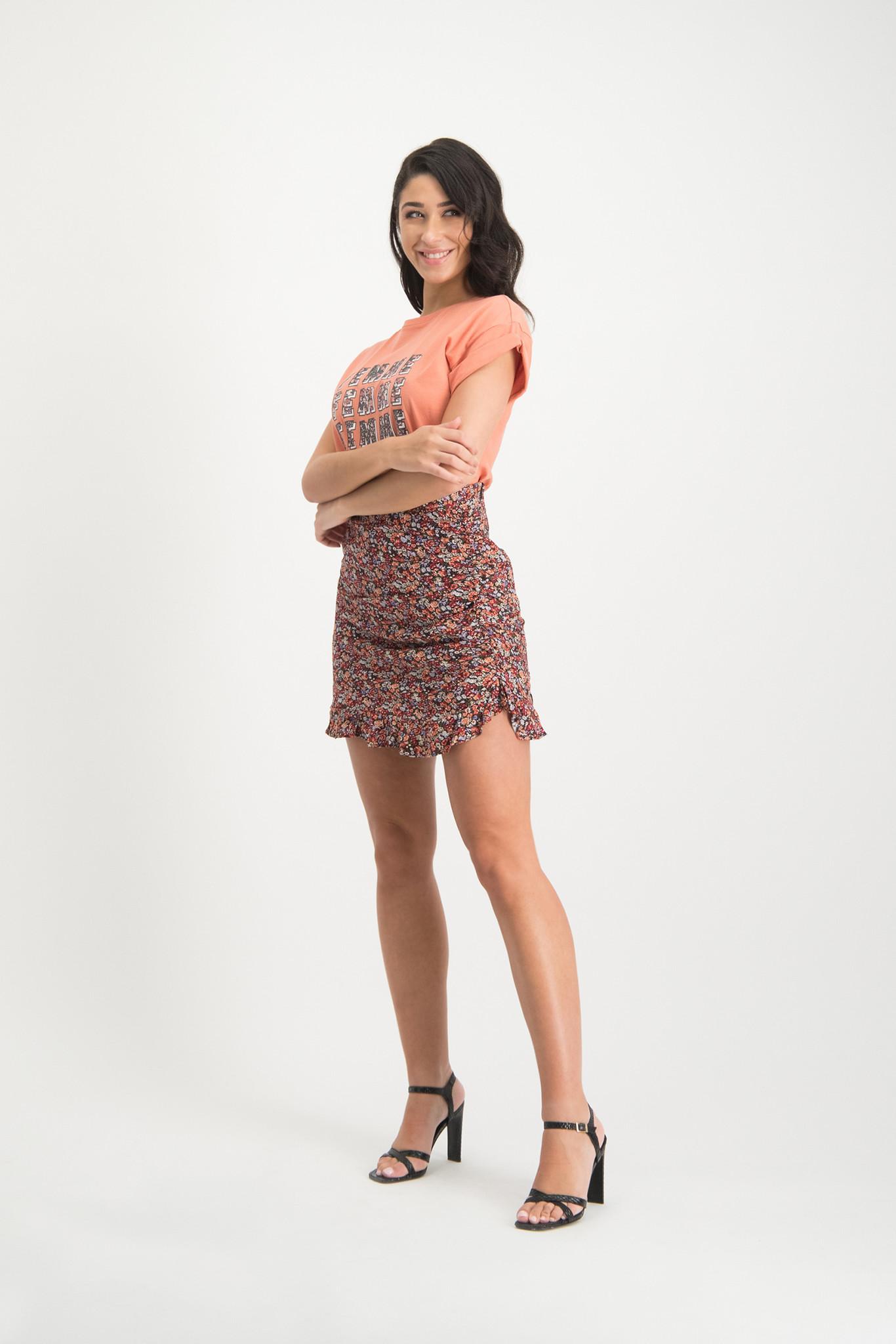 Lofty Manner Peach-colored Shirt Daria