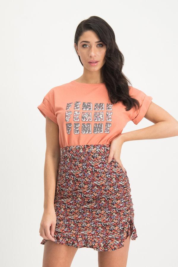 Peach-colored Shirt Daria
