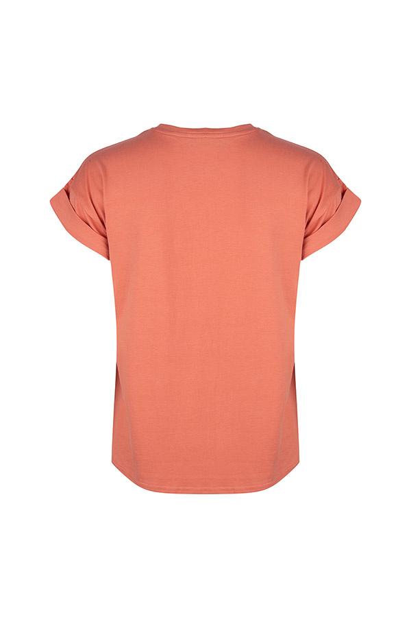 Perzikkleurig Shirt Daria