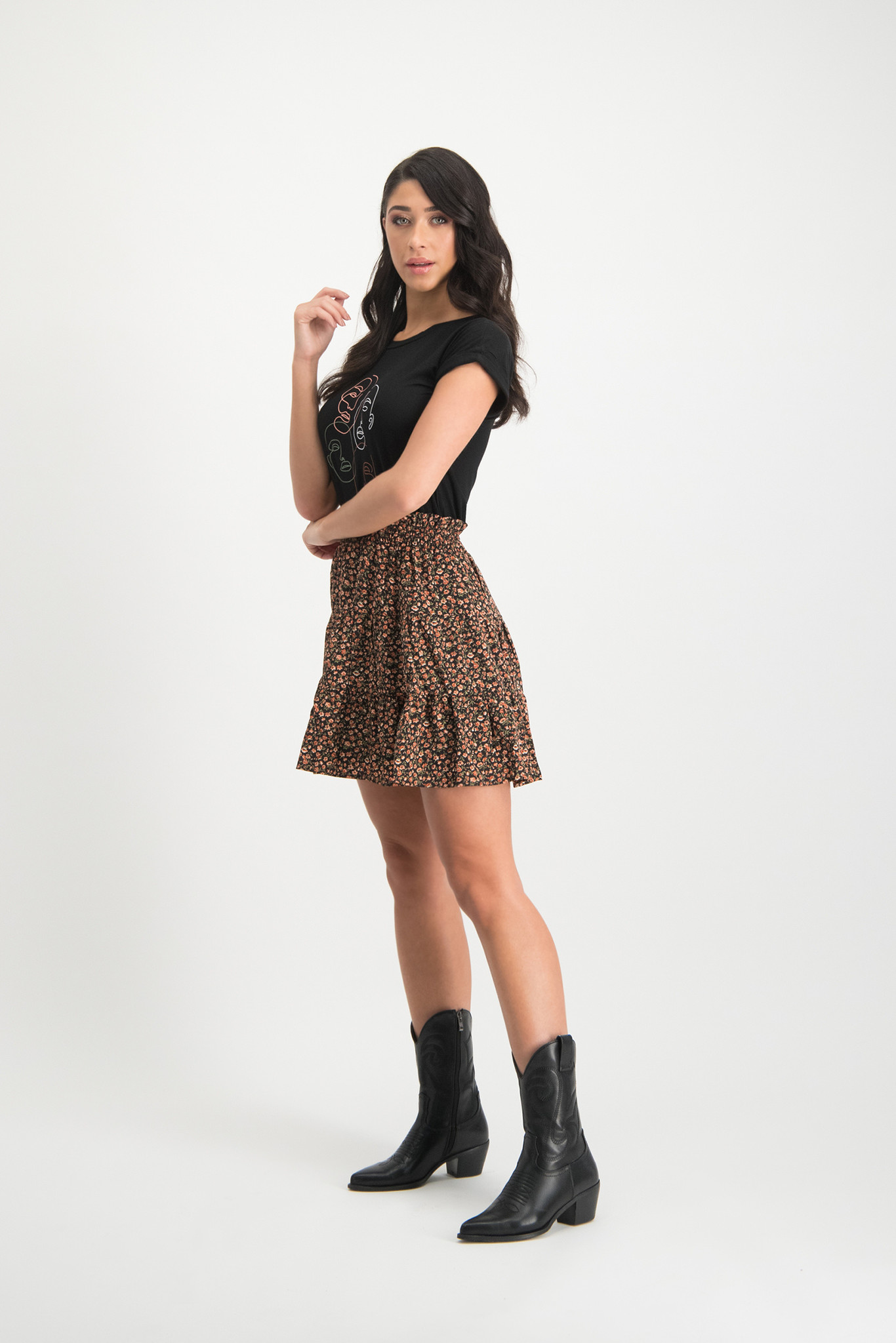 Lofty Manner Zwart Shirt Karina