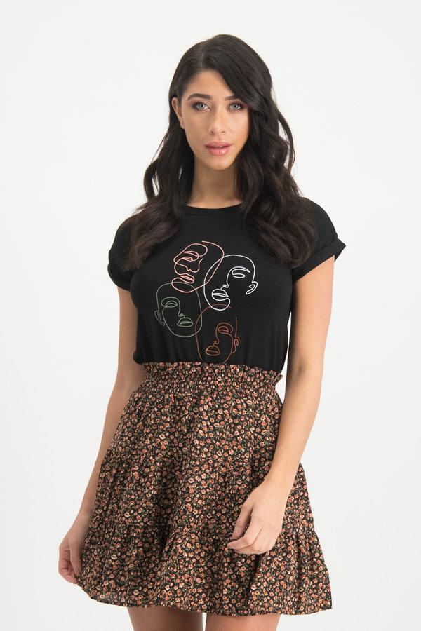 Zwart Shirt Karina