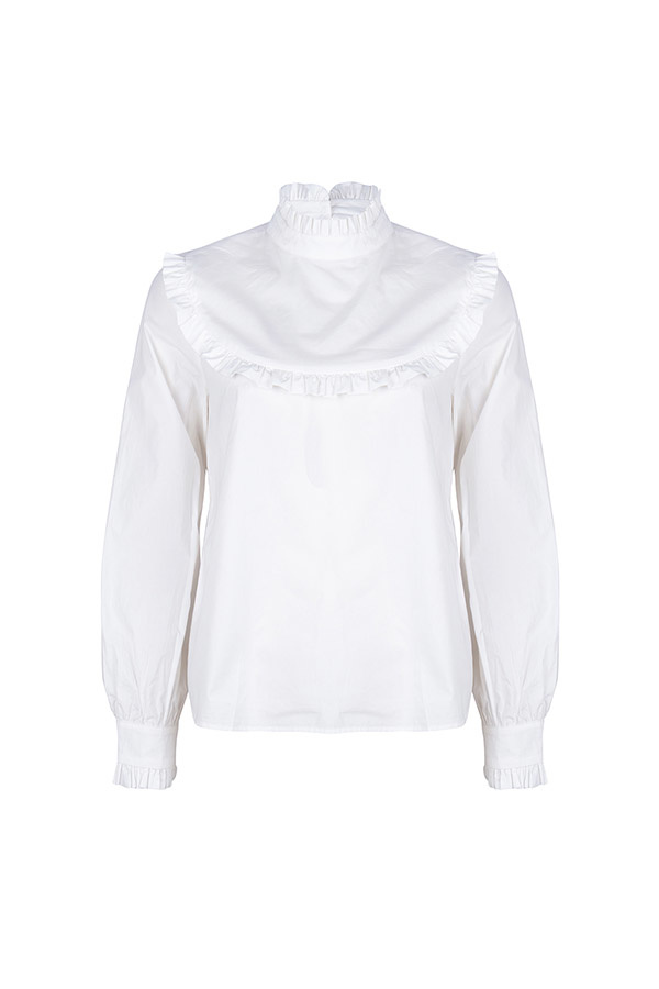 Lofty Manner White Blouse Adele