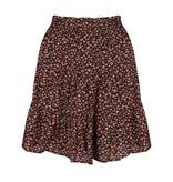 Lofty Manner Floral Print Mini Skirt Otilia
