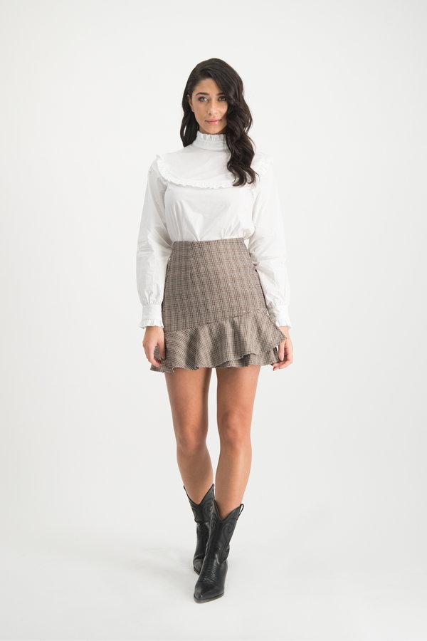 Peach-colored Skirt Ciska