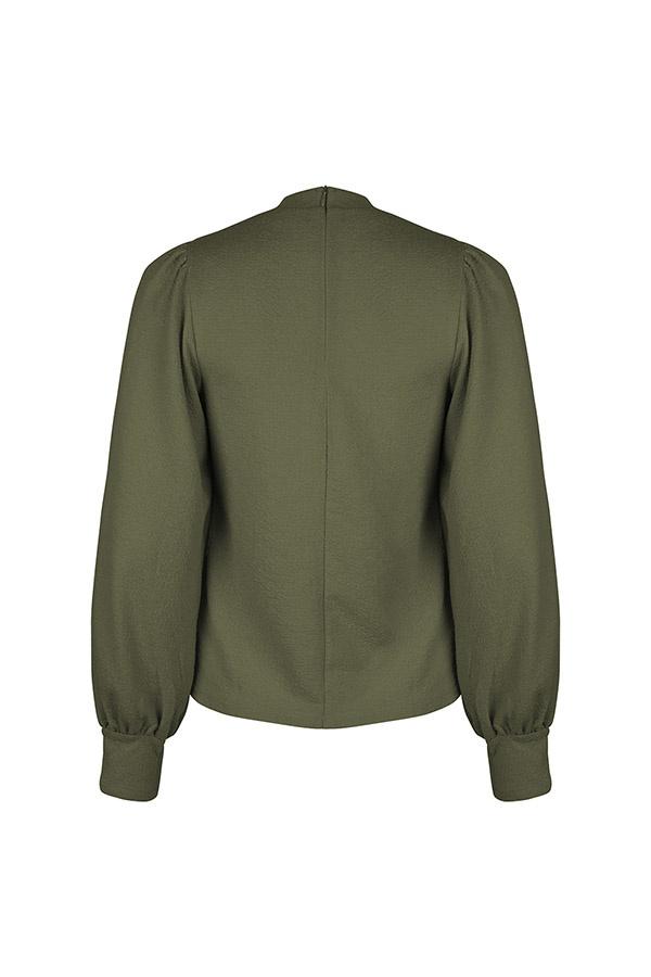 Lofty Manner Green Sweater Fenna