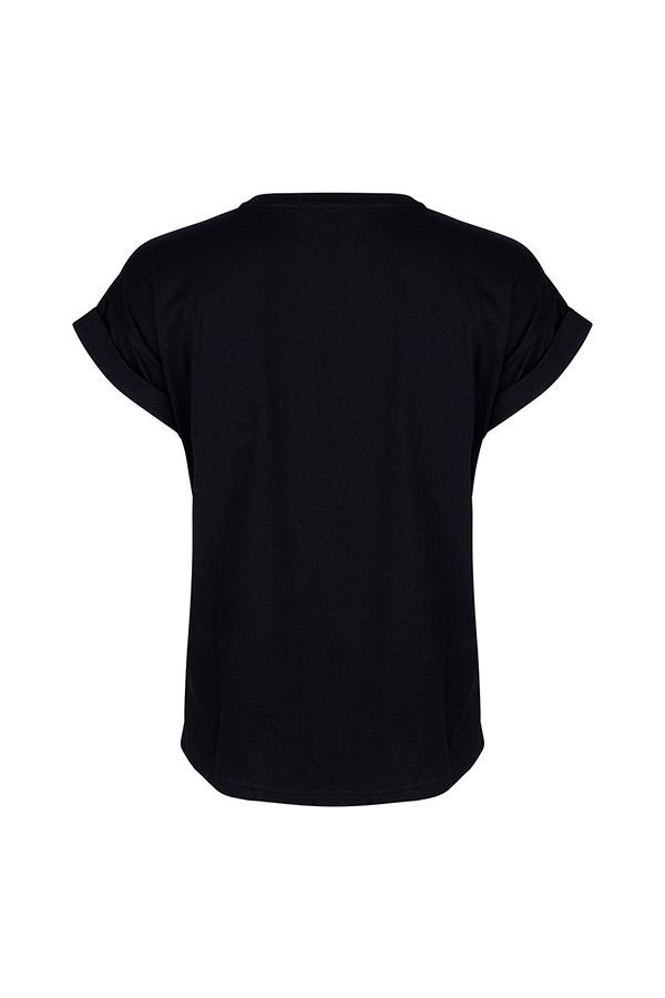 Lofty Manner Zwarte Top Daria
