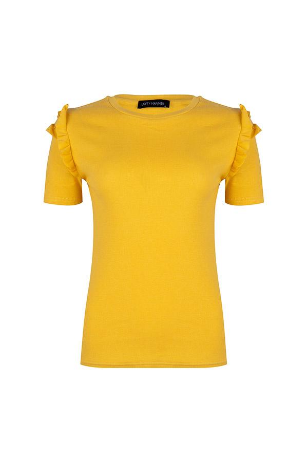 Lofty Manner Yellow Top Annelie