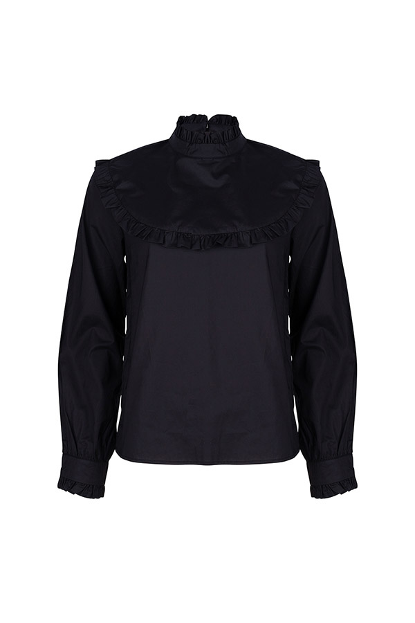 Lofty Manner Black Blouse Adele