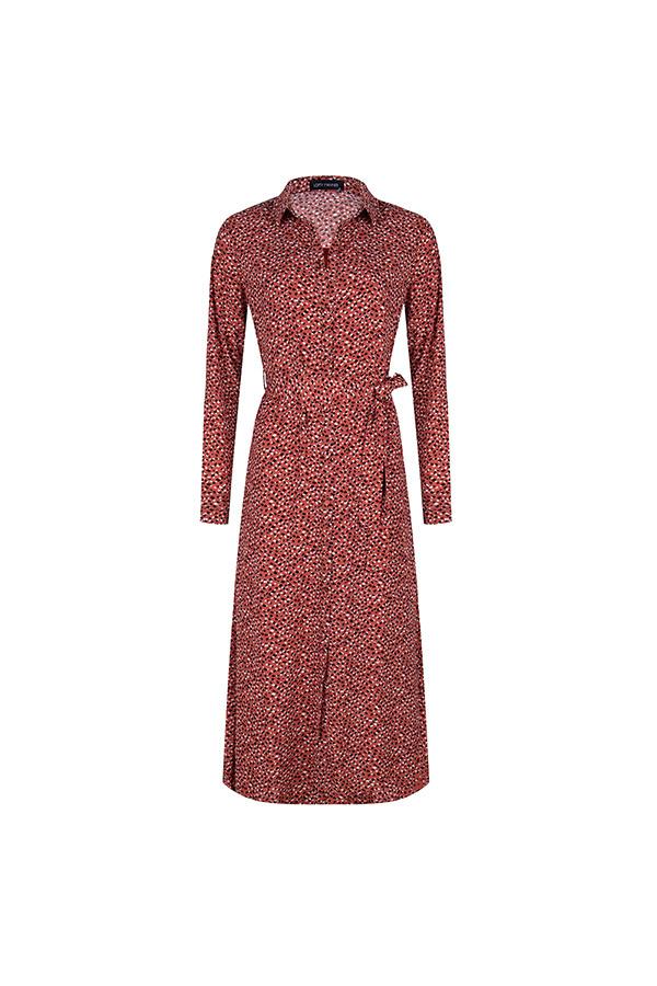 Lofty Manner Roze Zwarte Maxi Dress Sydney