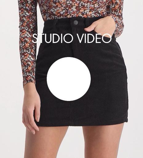 Lofty Manner Black Skirt Lida