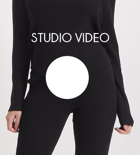 Black Sweater Hood Yasmine