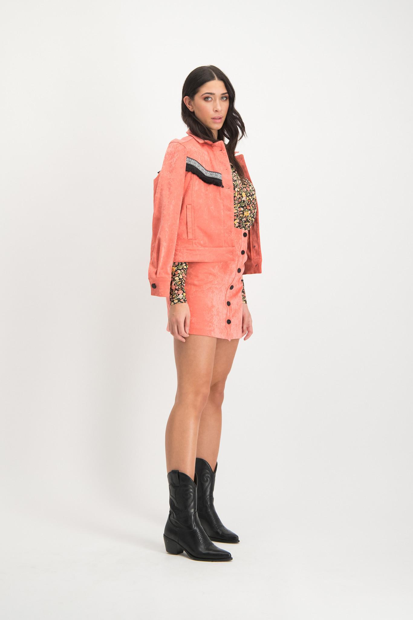 Lofty Manner Pink Jacket Gini
