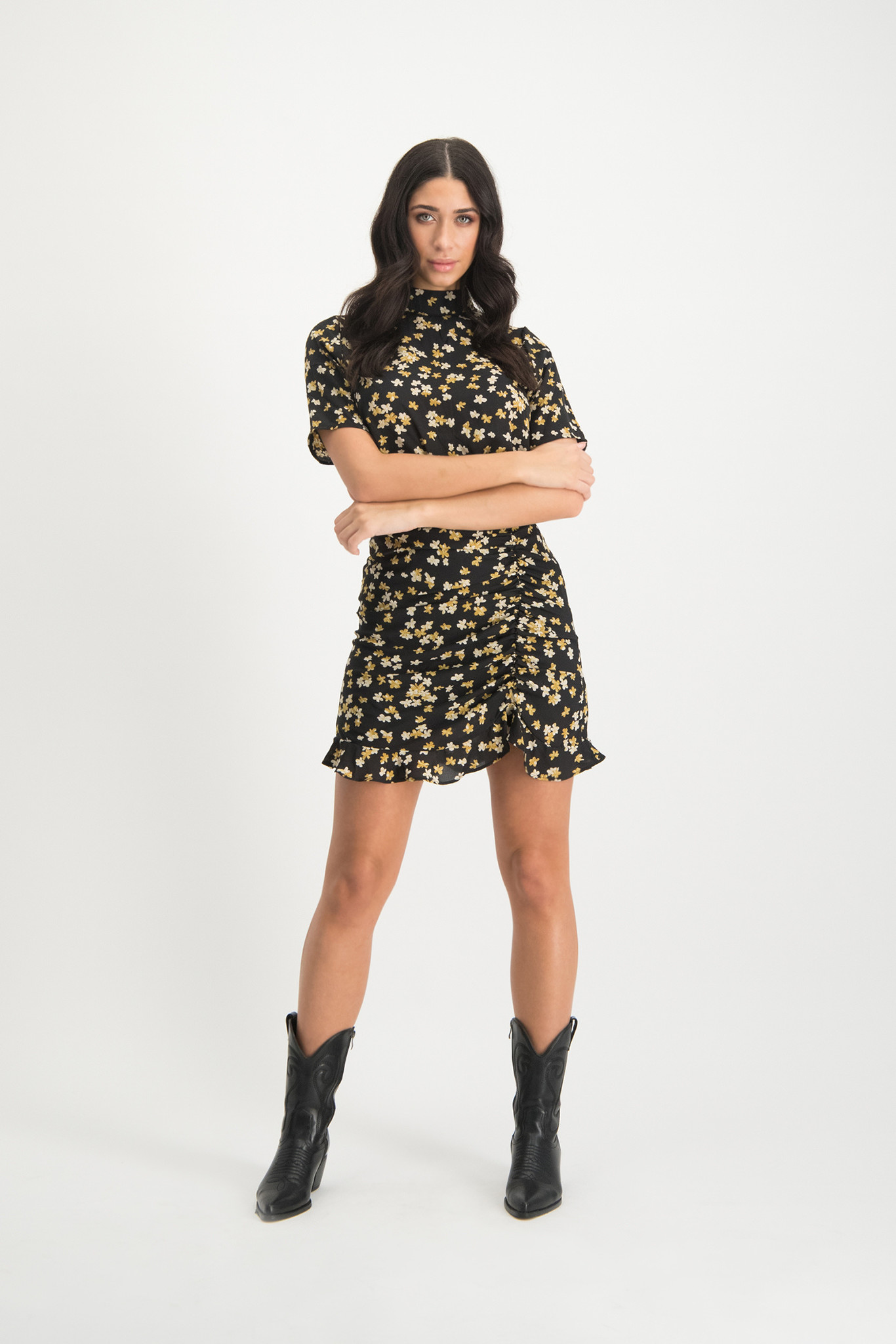 Lofty Manner Yellow Skirt Dylana