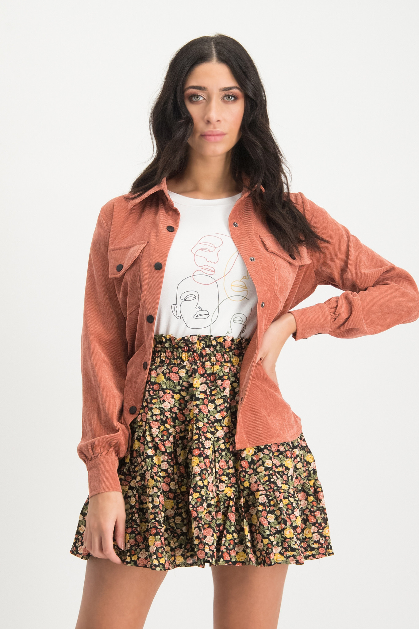 Lofty Manner Roze blouse Alexa