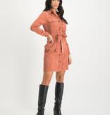 Lofty Manner Roze Jurk Adrienne