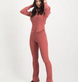 Lofty Manner Pink Sweater Hood Yasmine