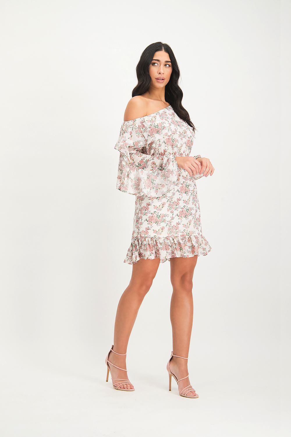 Lofty Manner Dress Aimy Pink