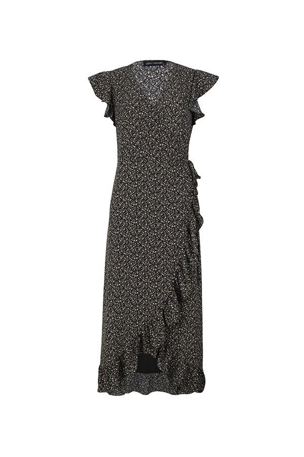 Lofty Manner Dark Maxi Dress Felisa