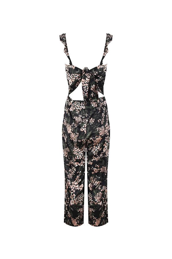 Lofty Manner Floral print Jumpsuit Rozy