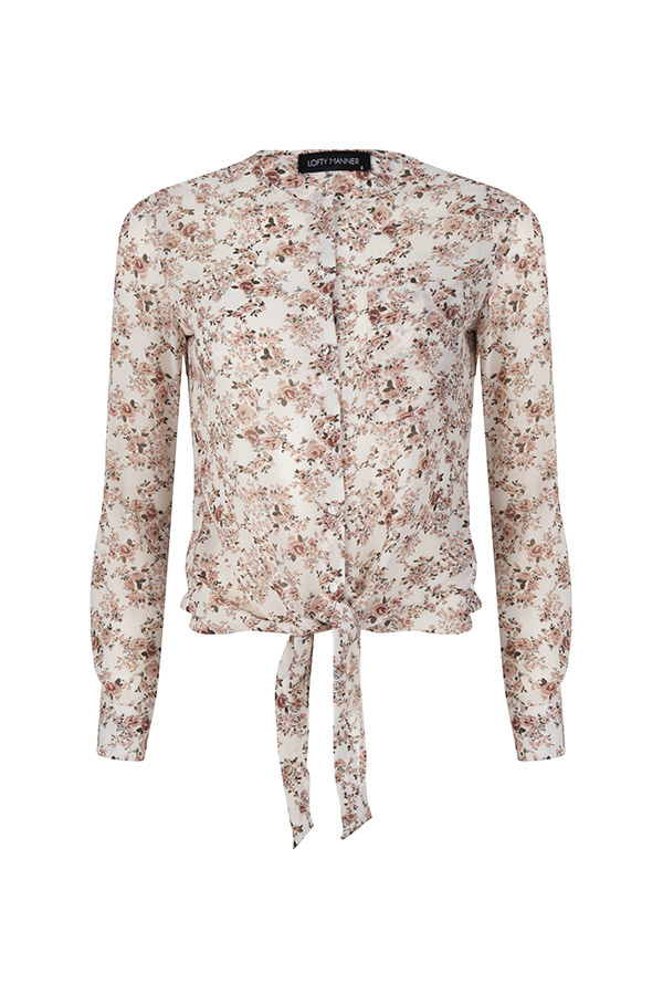 Lofty Manner Powder pink Blouse Anne Lou