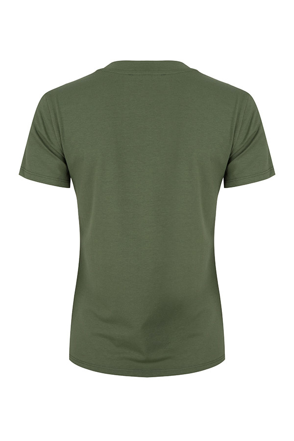 Lofty Manner Groen t-shirt Isabeau